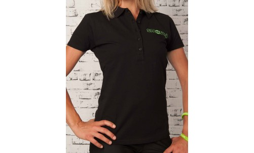 POLO SHIRT - BLACK | women